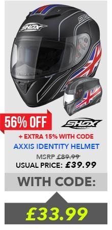 Shox Axxis Helmet