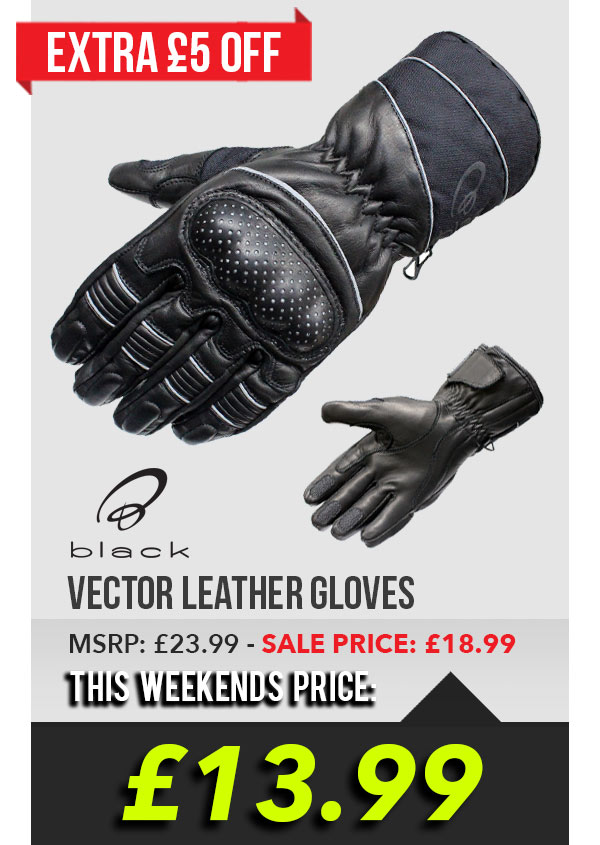 Black Vector Gloves