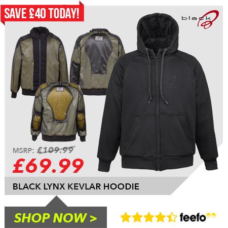 Black Kevlar Hoodie