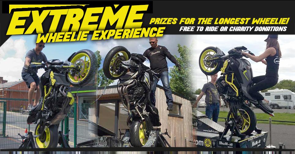 extreme wheelie experiance