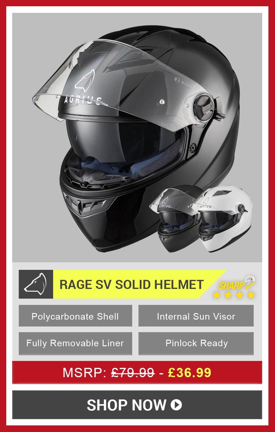 Rage SV Helmet